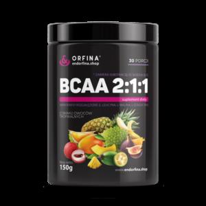 BCAA 2:1:1 owoce tropikalne 150g