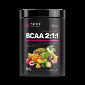 BCAA 2:1:1 owoce tropikalne 500g