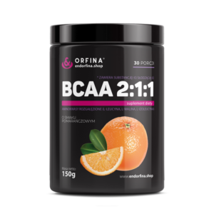 BCAA 2:1:1 pomarańczowy 150g