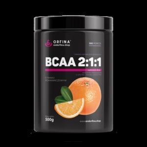 BCAA 2:1:1 pomarańczowy 500g