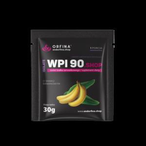 Izolat WPI 90 bananowy 30g