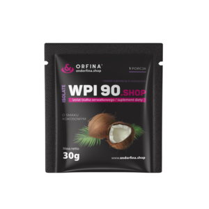 Izolat WPI 90 kokosowy 30g