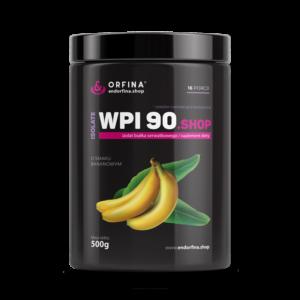 Izolat WPI 90 odżywka białkowa bananowy 500g