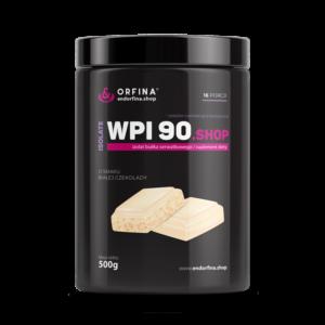 Izolat WPI 90 odżywka białkowa biała czekolada 500g