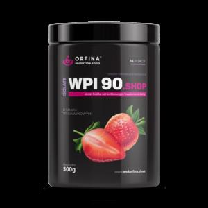 Izolat WPI 90 odżywka białkowa truskawkowy 500g