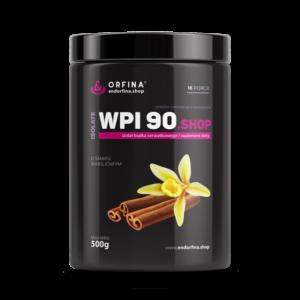 Izolat WPI 90 odżywka białkowa waniliowy 500g