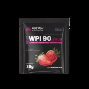 Izolat WPI 90 truskawkowy 30g