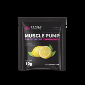 Muscle pump cytrynowy 10g