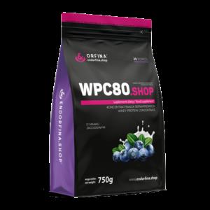 WPC80 odżywka białkowa jagodowy 750g