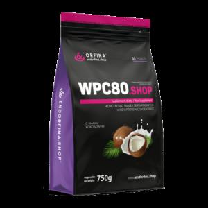WPC80 odżywka białkowa kokosowy 750g