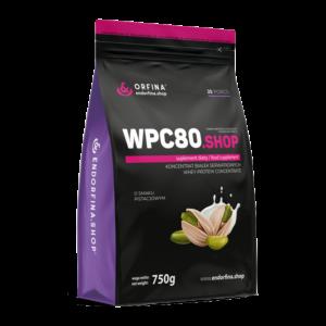 WPC80 odżywka białkowa pistacjowy 750g