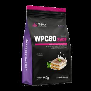 WPC80 odżywka białkowa tiramisu 750g