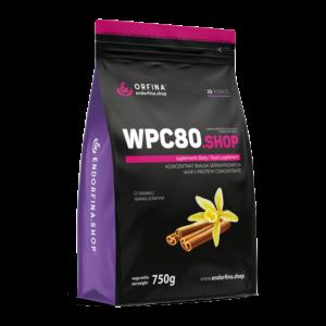WPC80 odżywka białkowa waniliowy 750g