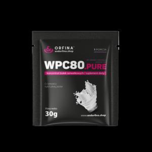 WPC80 odżywka białkowa pure 750g