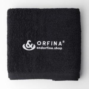 Ręcznik kolor czarny 50×100 cm
