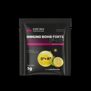 Immuno Bomb Forte D3 + K2 cytrynowy 5g