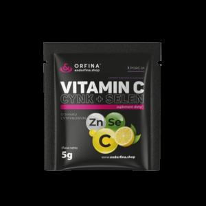 Witamina C Cynk + Selen cytrynowy 5g