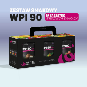 Zestaw smakowy WPI 90 15 saszetek
