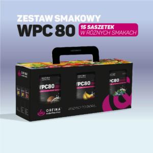 Zestaw smakowy WPC80 15 saszetek