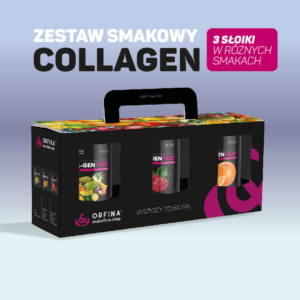 Zestaw smakowy Collagen 3x 150g
