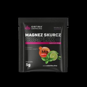 Magnez skurcz Complex limonka z miętą 5g