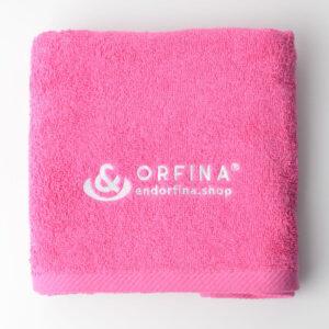 Ręcznik kolor magenta 50×100 cm