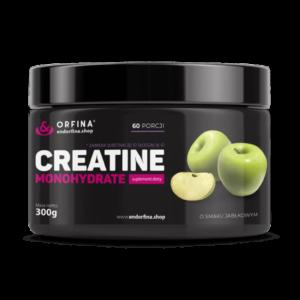 Kreatyna jabłkowy, creatine smak jabłkowy 300g