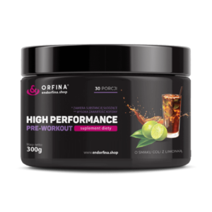 High performance cola z limonką 300g