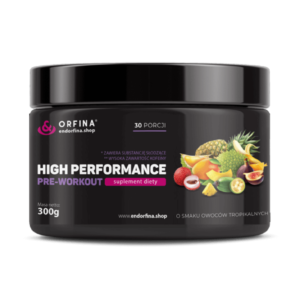 High performance owoce tropikalne 300g