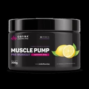 Muscle pump cytrynowy 300g