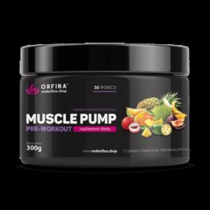 Muscle pump owoce tropikalne 300g
