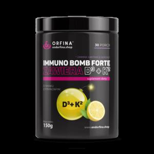 Immuno Bomb Forte D3 + K2 cytrynowy 150g