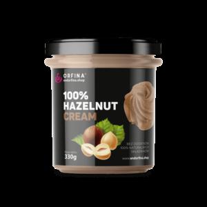 Krem z orzechów laskowych – 100% – Hazelnut cream 330g