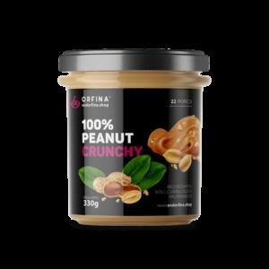 Krem orzechowy – 100% Peanut Crunchy (masło orzechowe) 330g
