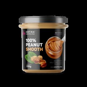 Krem orzechowy – 100% Peanut Smooth (masło orzechowe) 330g